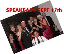 SPEAKEASY SEPT 17th